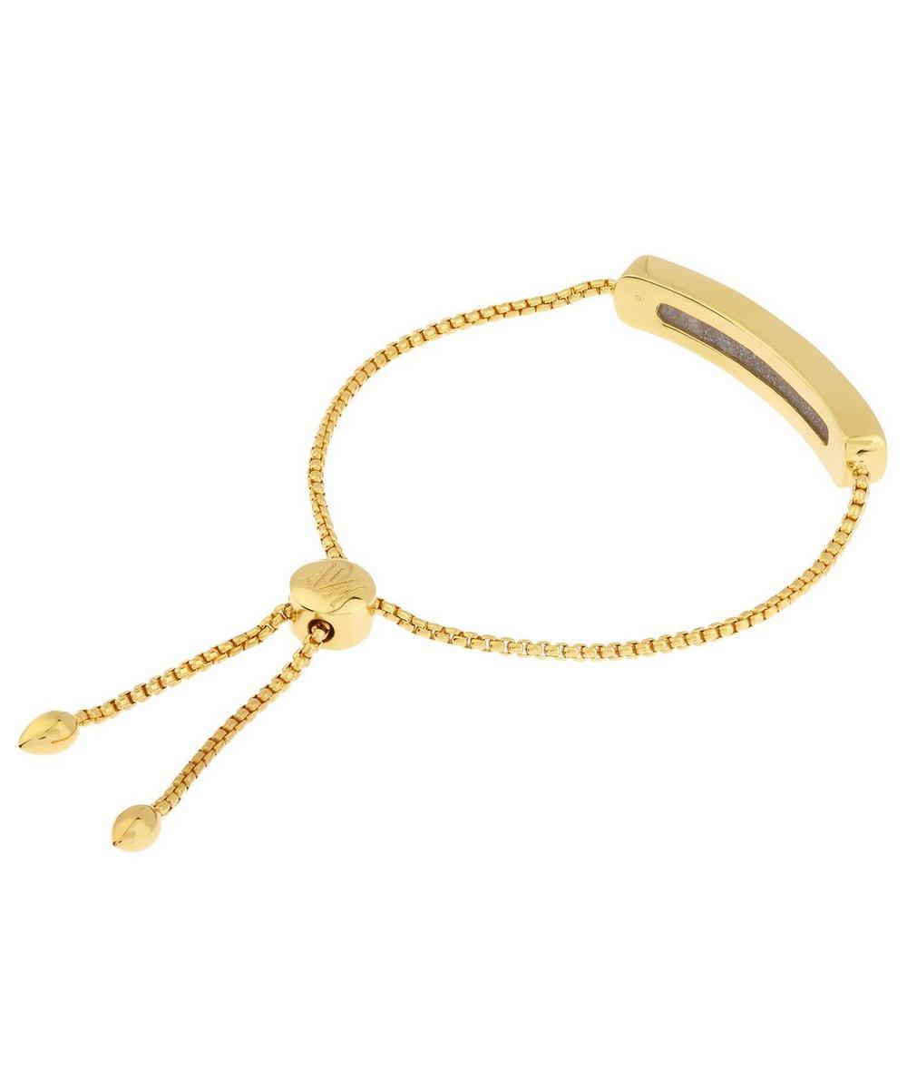 Vermeil Grey Agate Baja Chain Bracelet