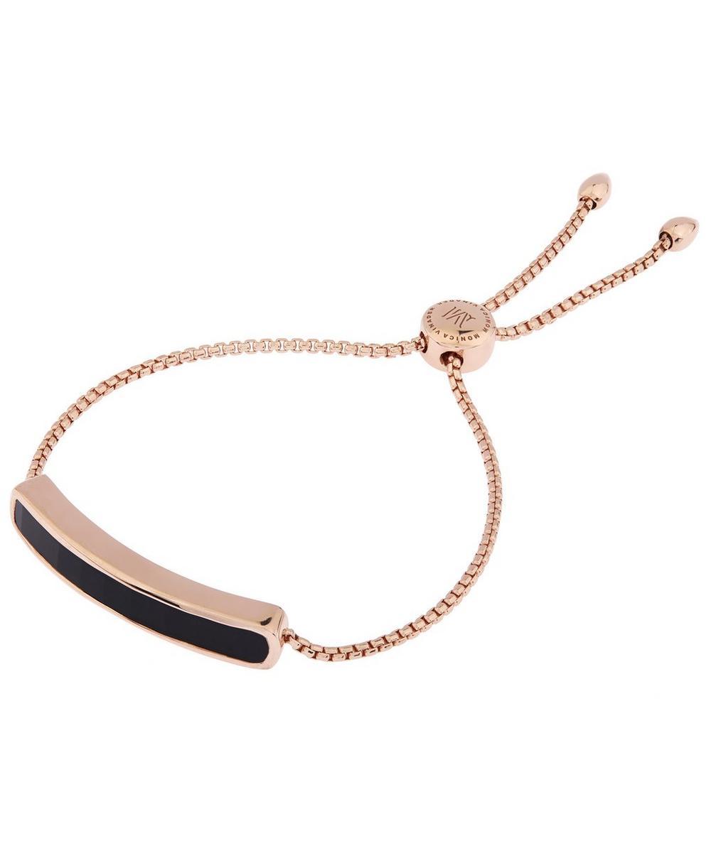 Vermeil Black Onyx Baja Chain Bracelet