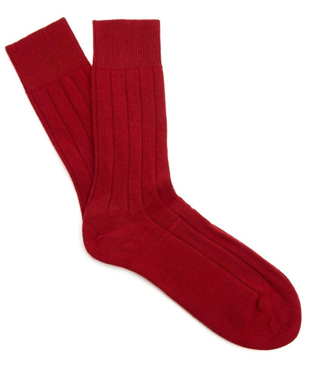 Lhasa Ribbed Ankle Socks