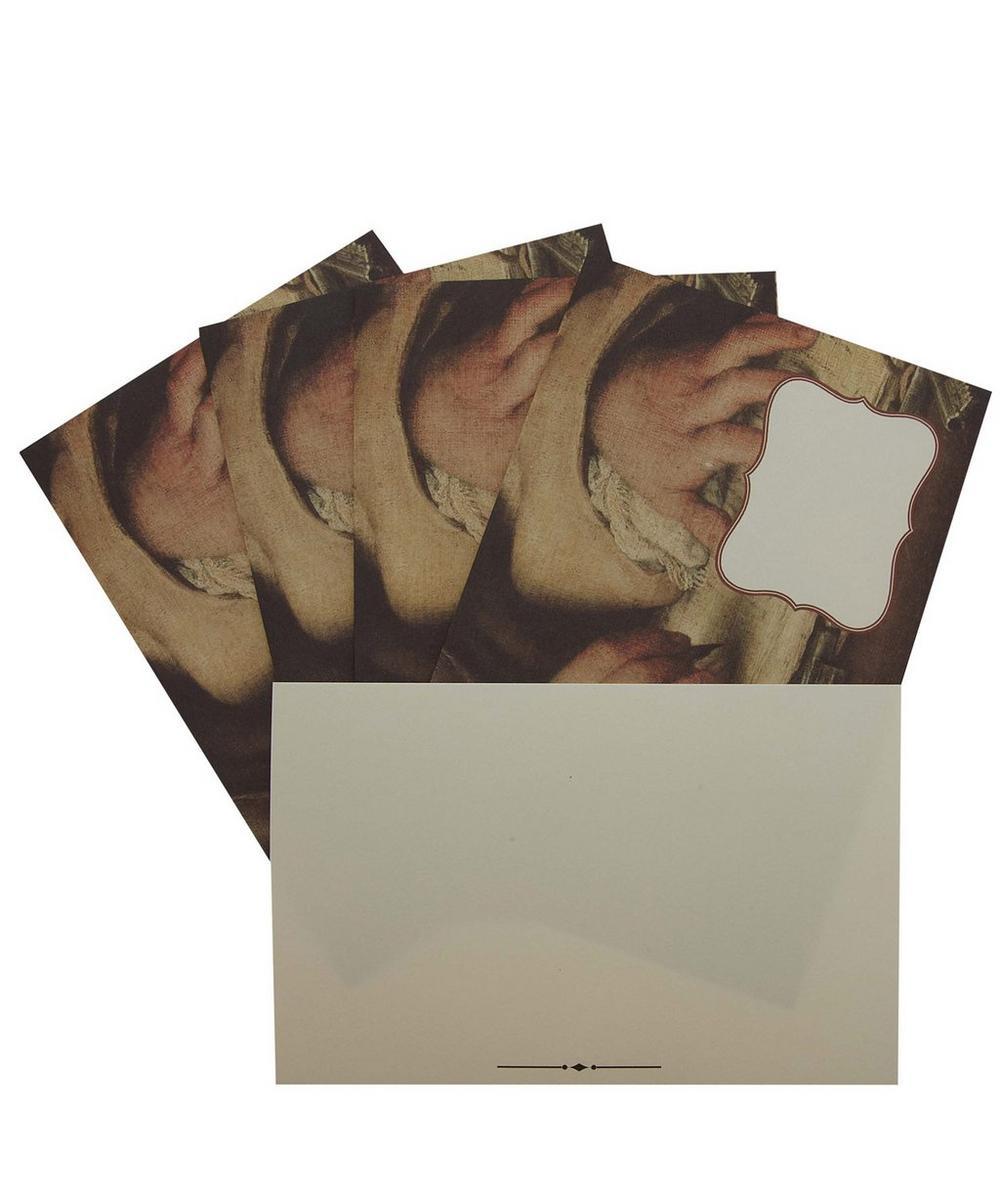 Fountain Pen Print Postcard and Envelope Set