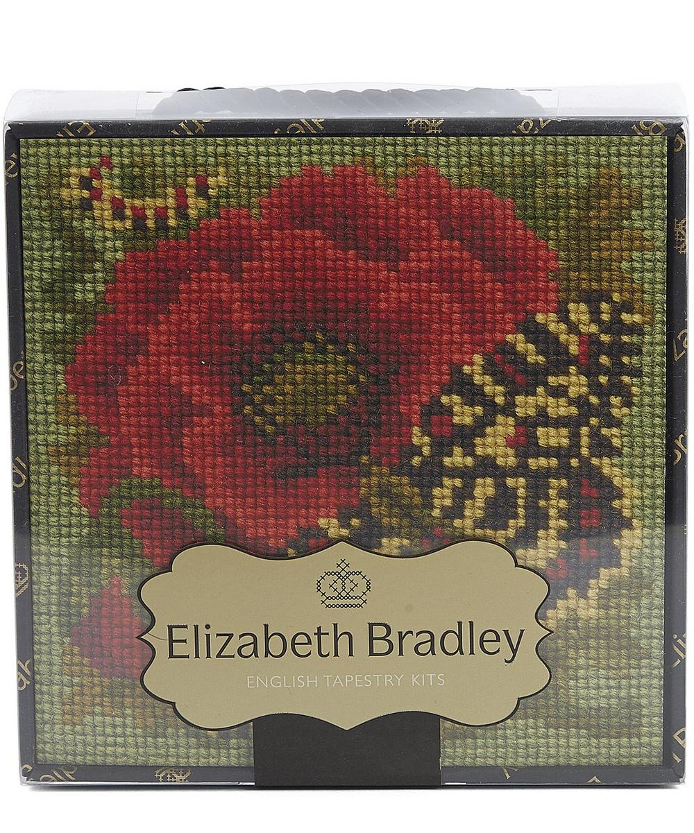 Mini Poppy Butterfly Tapestry Kit