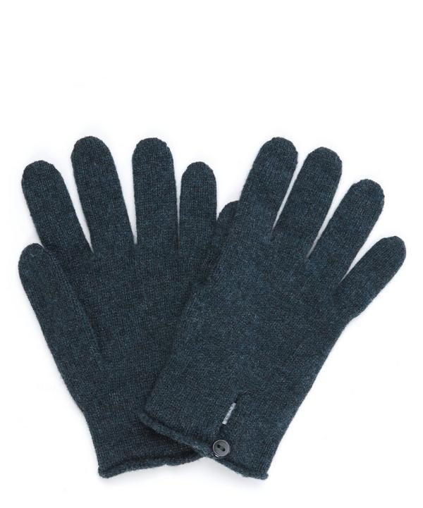 Button Cashmere Gloves