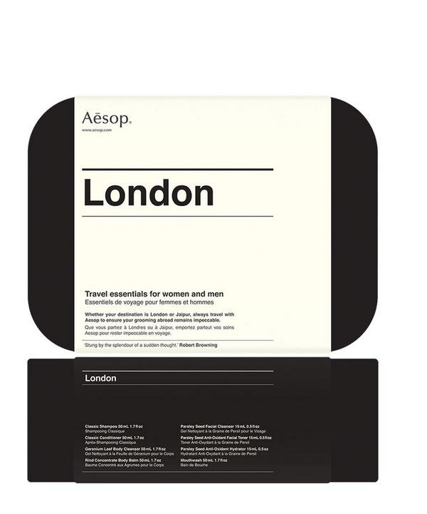 London Travel Skincare Kit