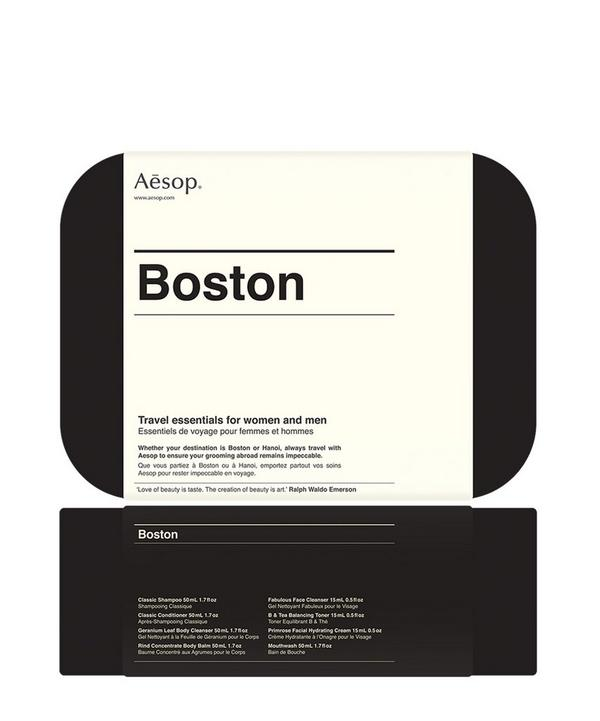 Boston Travel Skincare Kit
