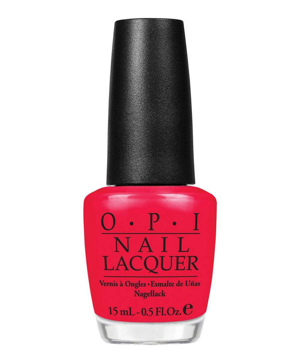 Nail Polish in Red Lights Ahead Where 15ml