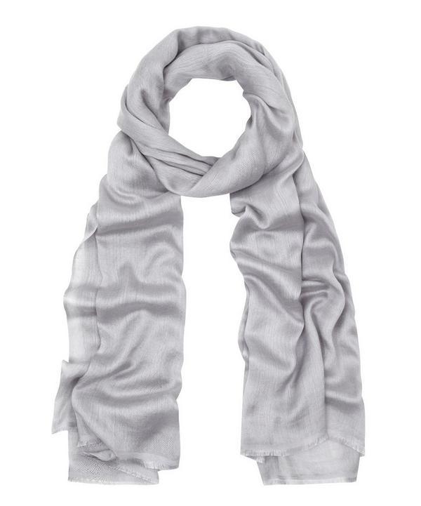 Lino Gauze Silk-Blend Scarf