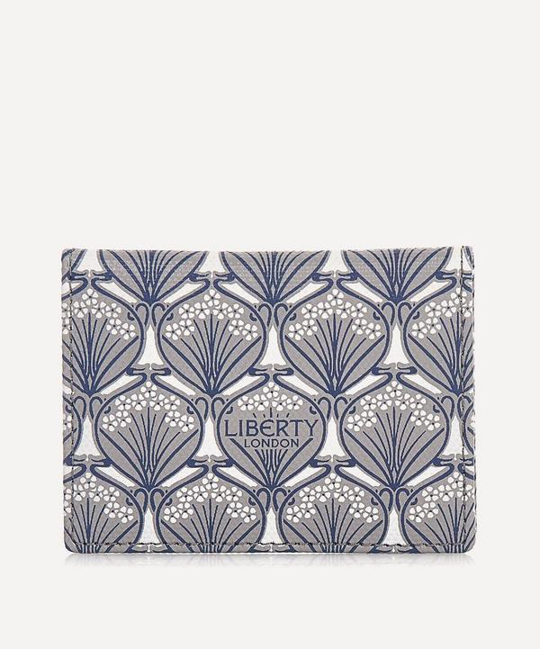 Travel Card Holder in Iphis Canvas