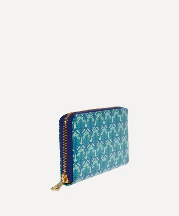 Liberty London Zip-Around Wallet