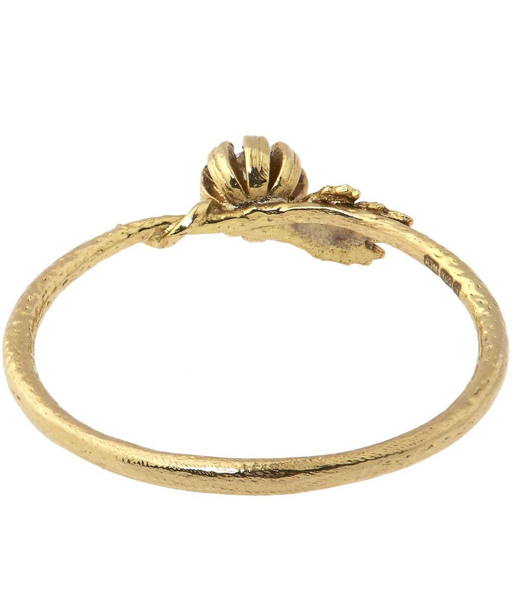 18ct Gold Twisted Vine Diamond Ring