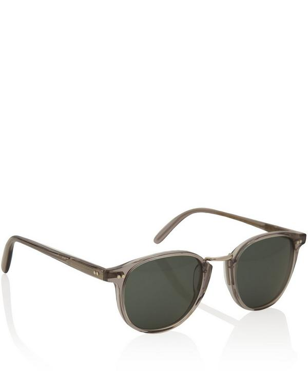 1007 Acetate and Metal Sunglasses