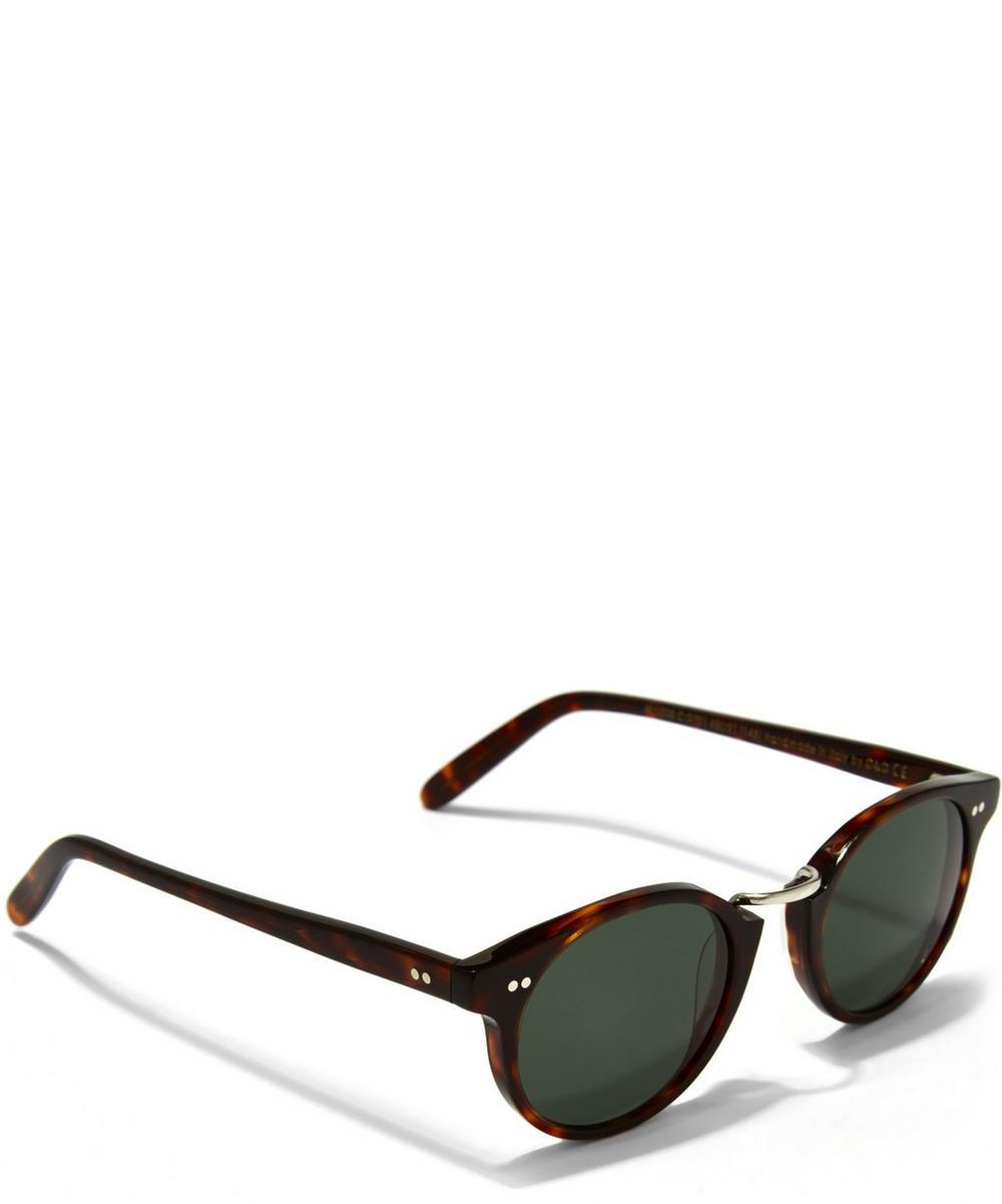 0734 Round Frame Acetate Sunglasses