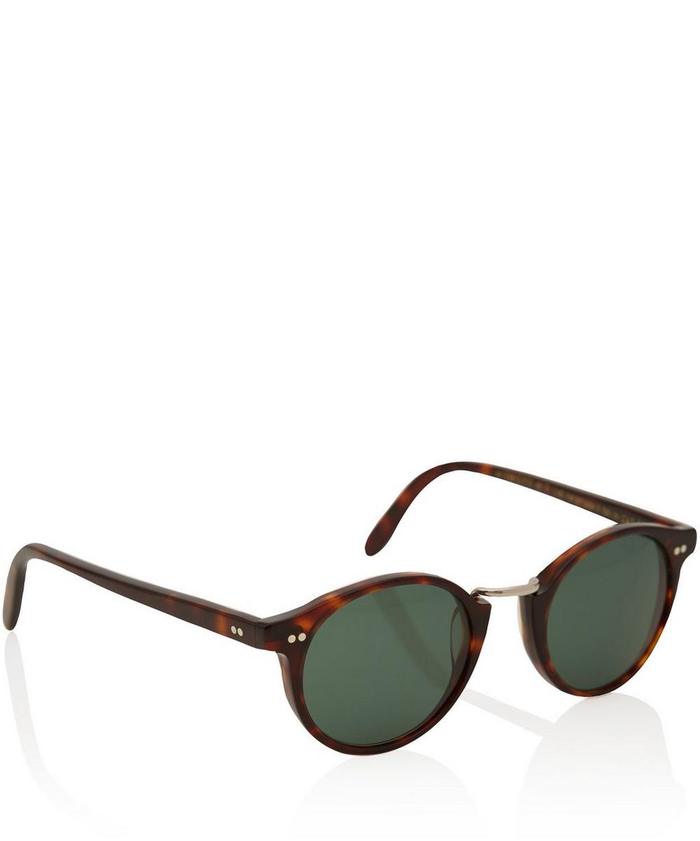 1008 Small Acetate and Metal Sunglasses