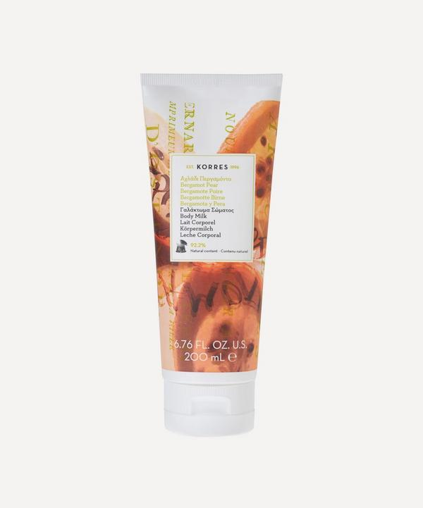 Bergamot Pear Body Milk 200ml