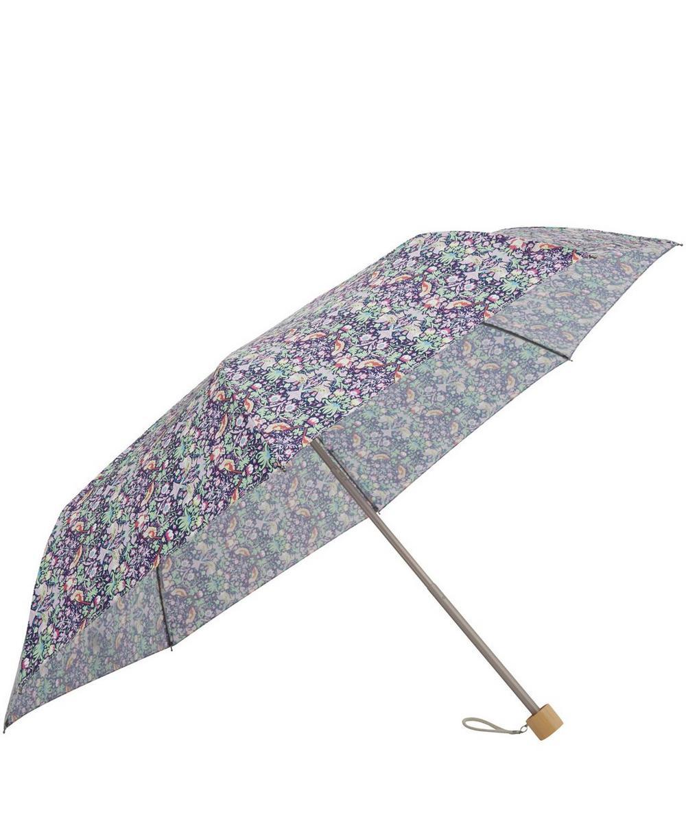 Strawberry Thief Liberty Print Compact Umbrella