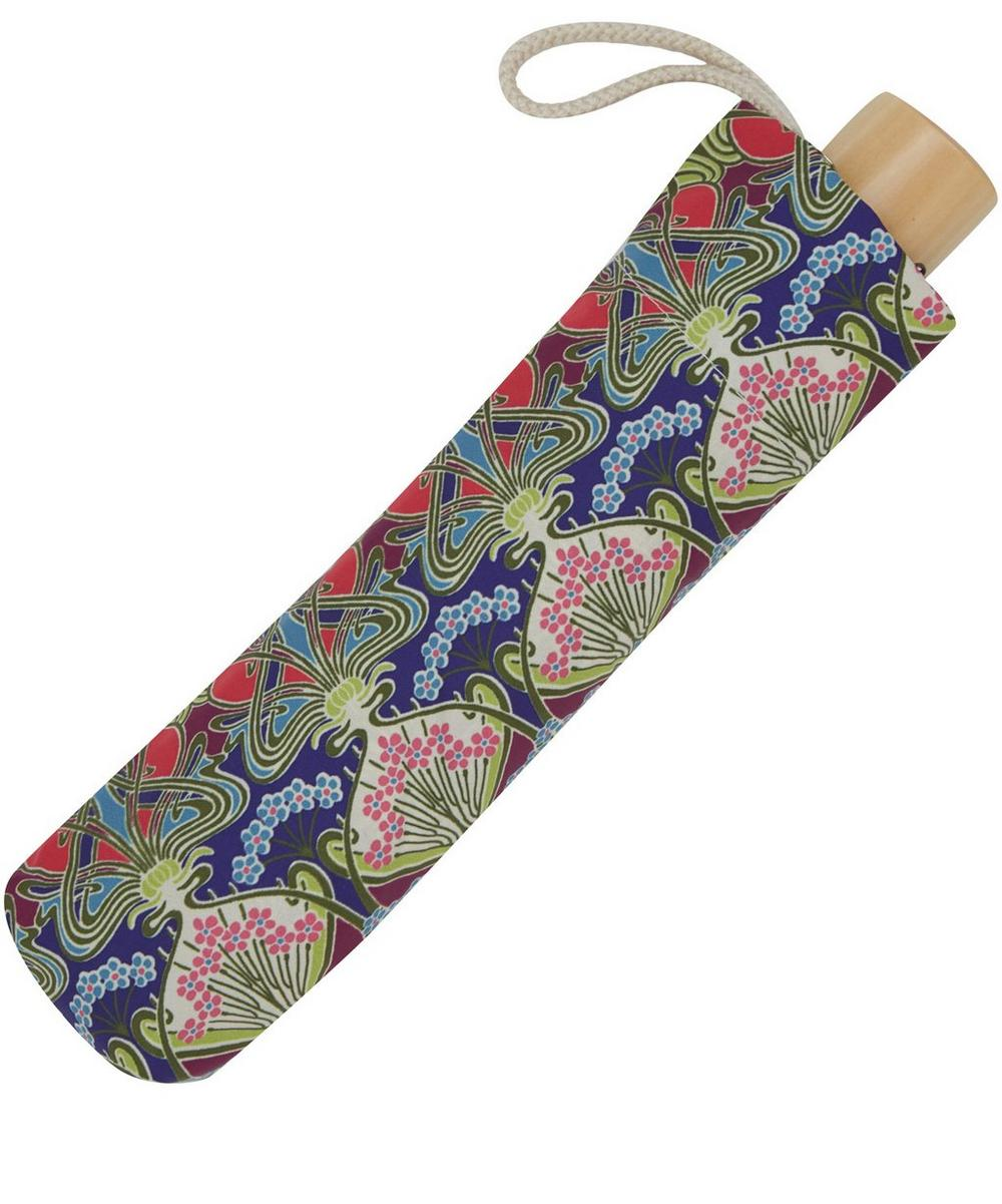 Ianthe Liberty Print Compact Umbrella