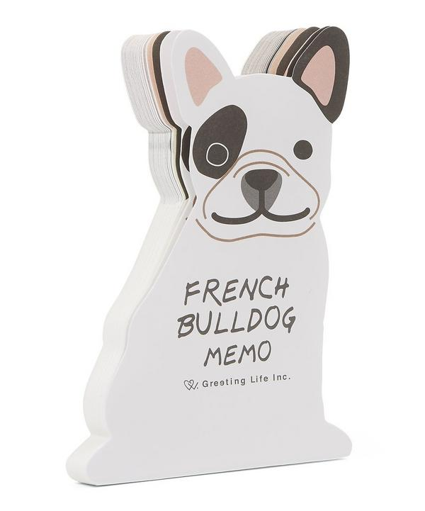 French Bulldog Memo Pad