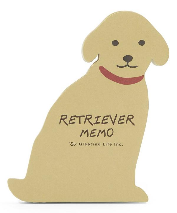 Die-Cut Retriever Memo Pad