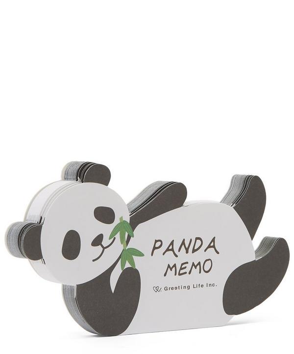 Die-Cut Panda Memo Pad