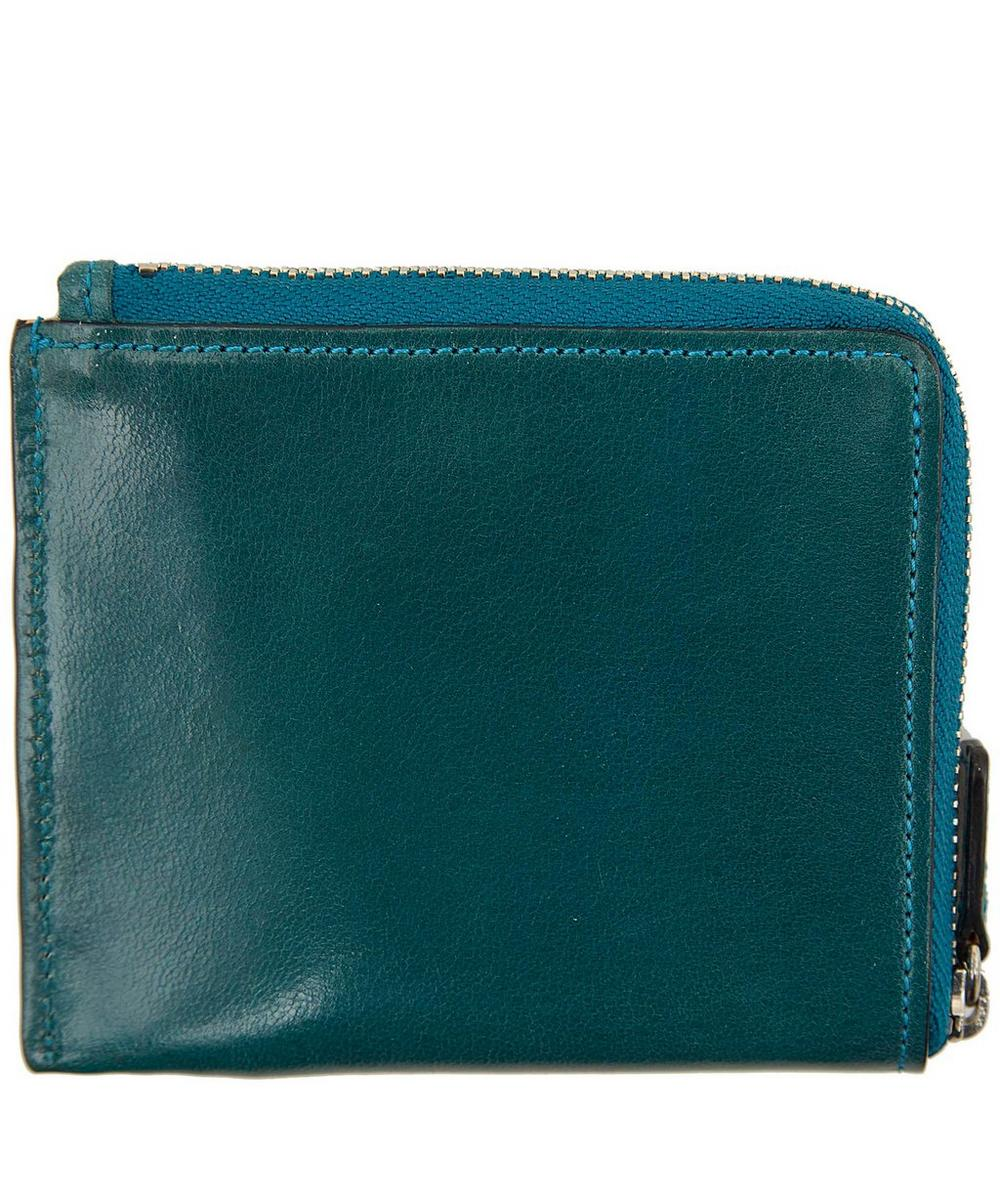 Leather Zip Around Wallet