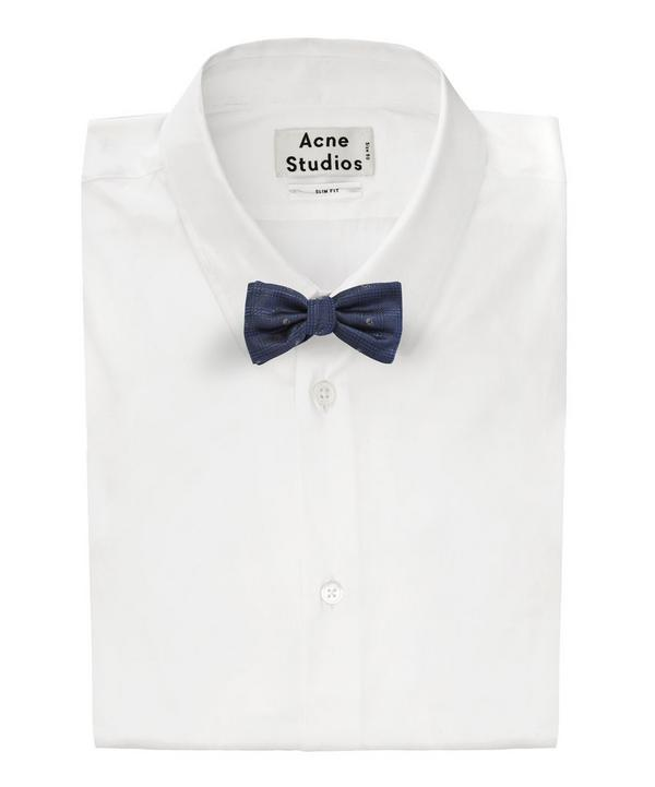 Prince of Wales Skull Bow Tie