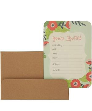 You're Invited Invitation Card Set