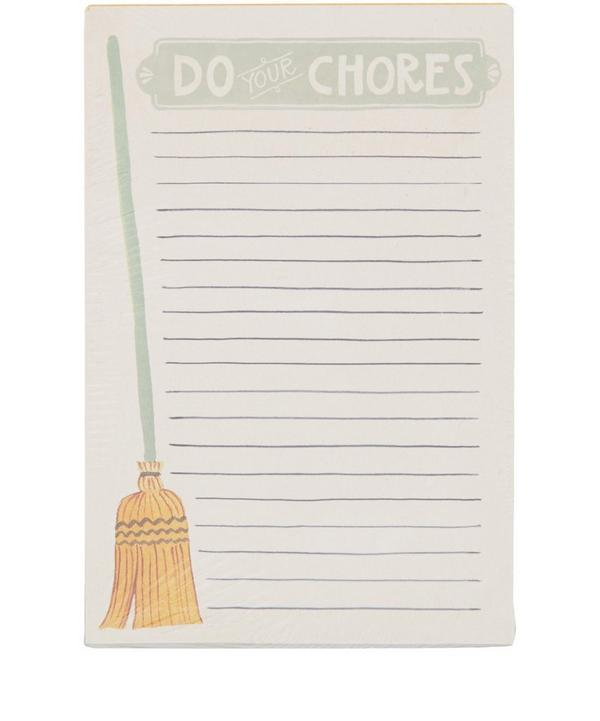 Do Your Chores Notepad