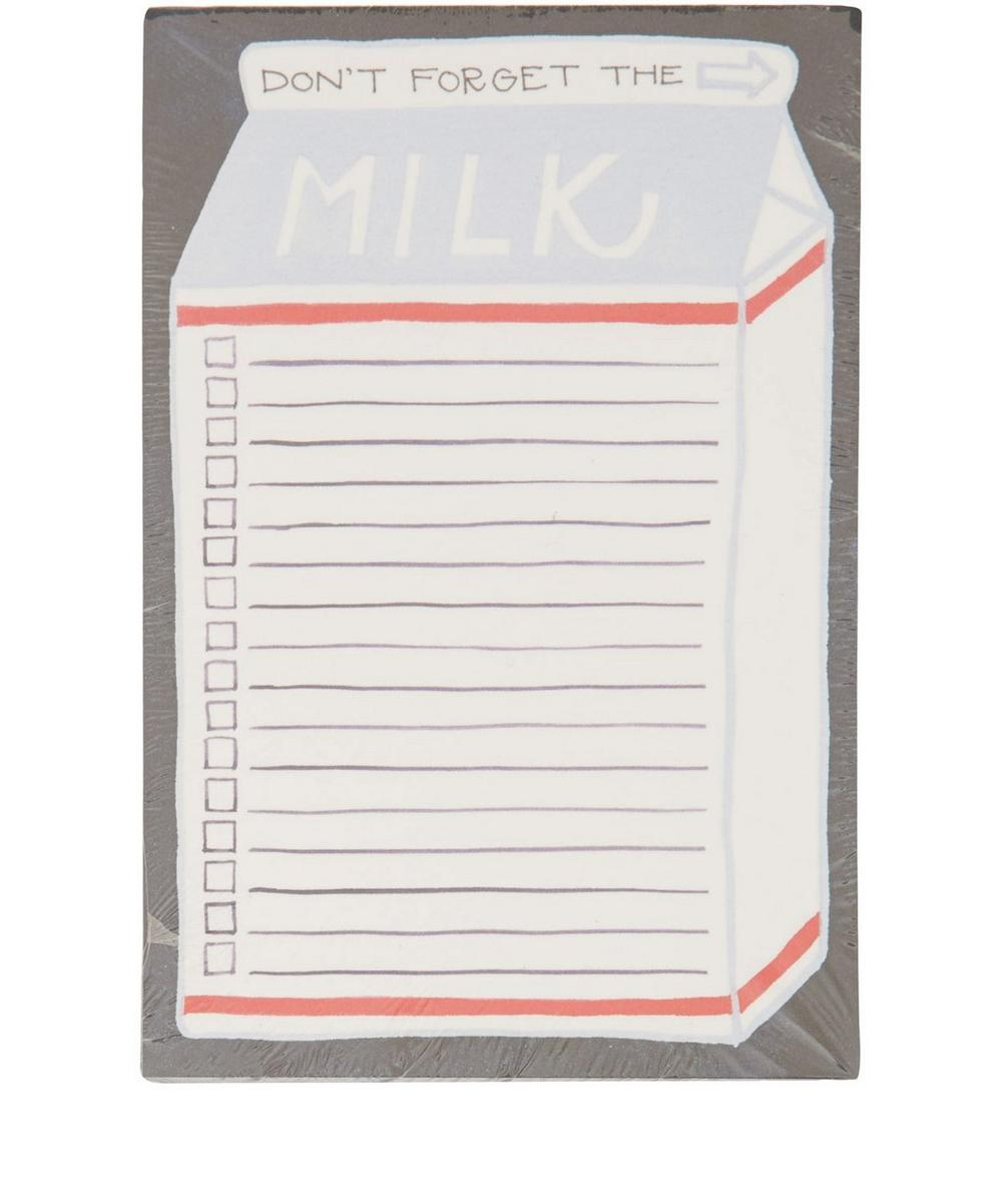 Don't Forget the Milk Notepad
