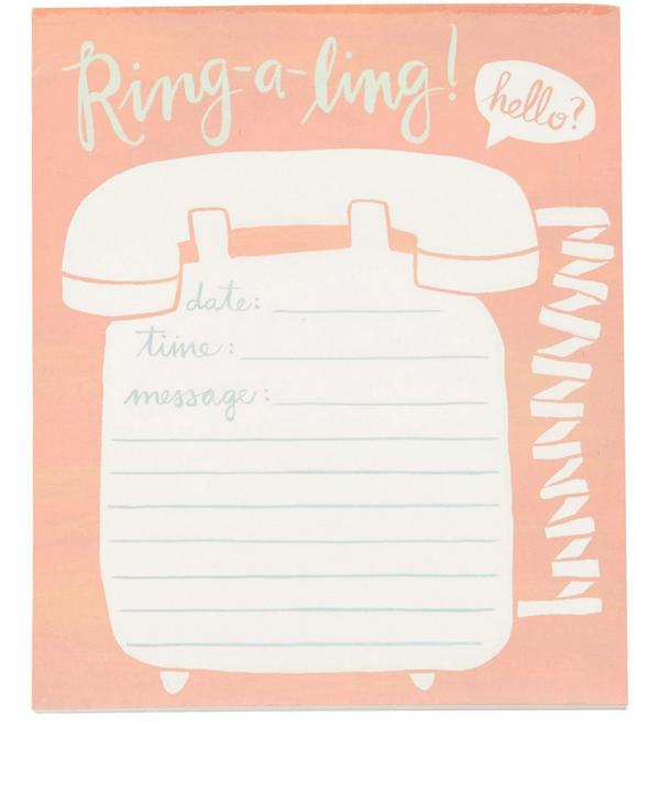 Ring-A-Ling Telephone Notepad