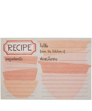 Mixing Bowls Recipe Card Set