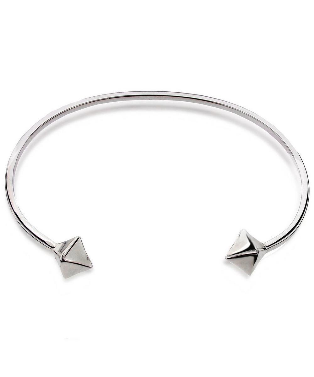 Silver Almaz Cuff Bracelet