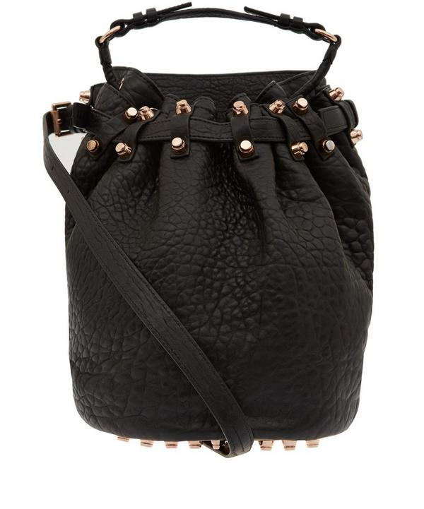 Diego Bag with Rose Gold Studs