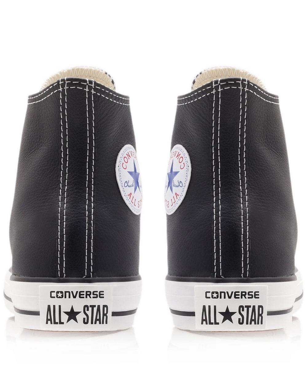 Chuck Taylor Leather Hi Top Trainers