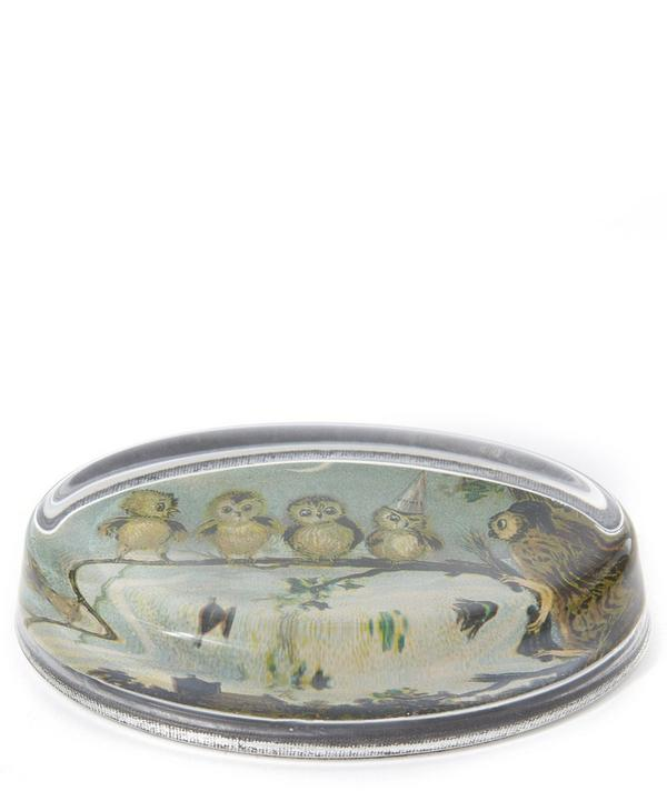 Night Oval Paperweight