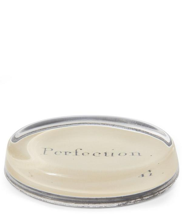 Perfection Oval Paperweight