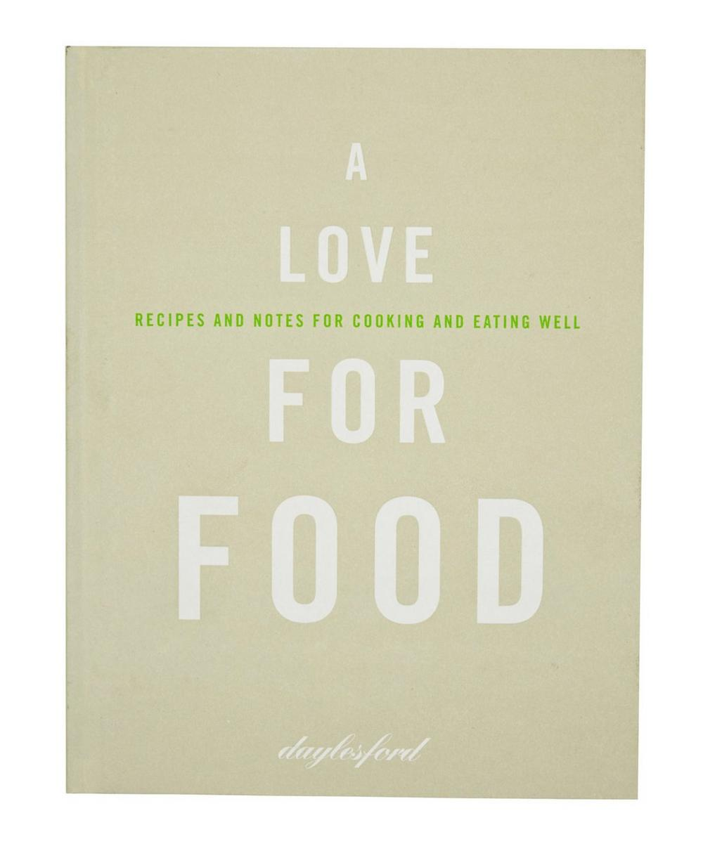A Love for Food Cookbook