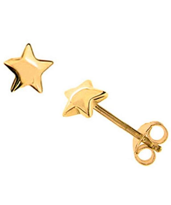 Vermeil Bijou Star Stud Earrings