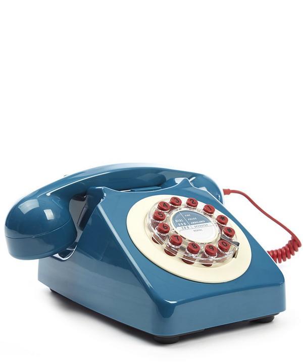 Petrol Blue 746 Phone