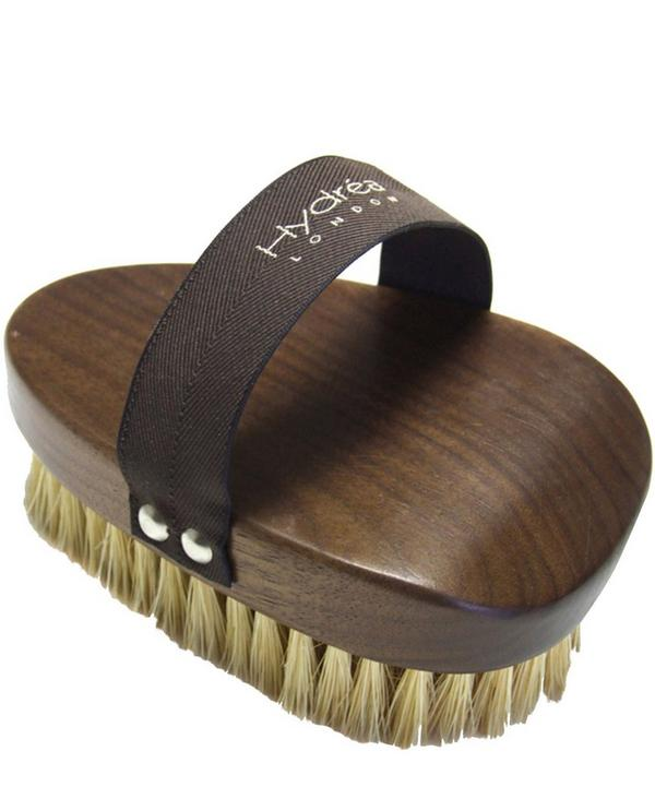 Walnut Wood Dry Skin Brush