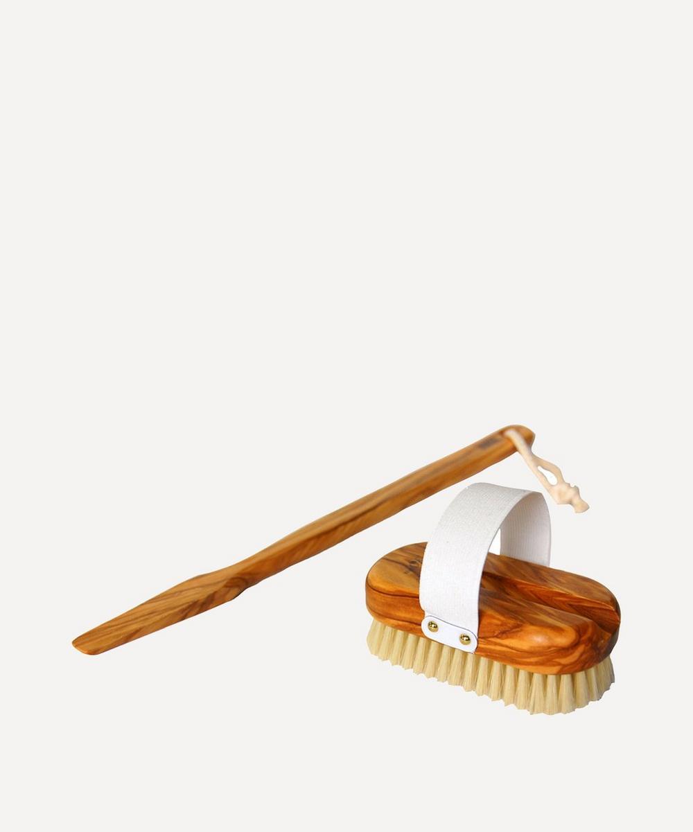 Olive Wood Body Brush