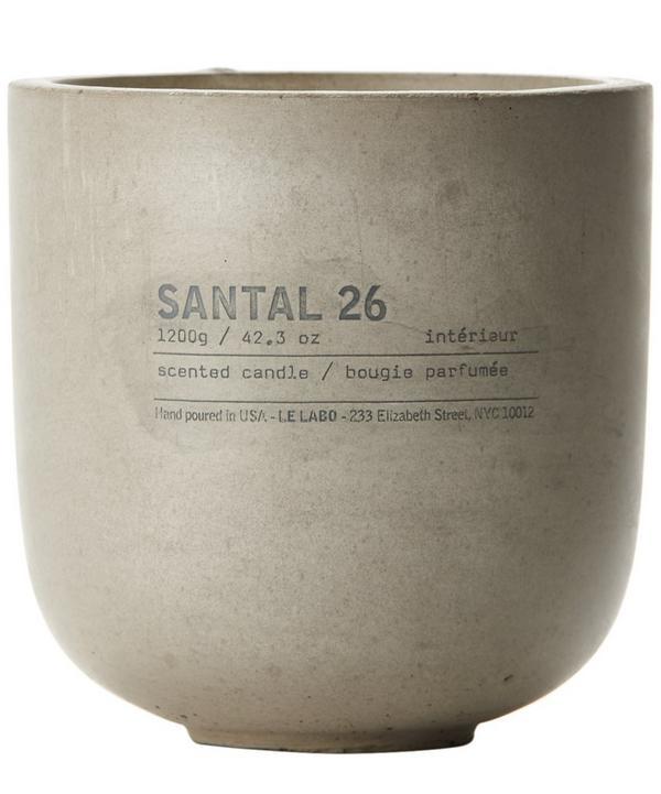 Santal 26 Concrete Candle 1200g