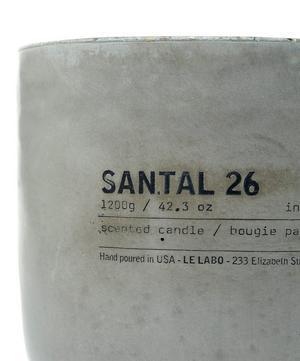 Santal 26 Concrete Candle 1.2kg