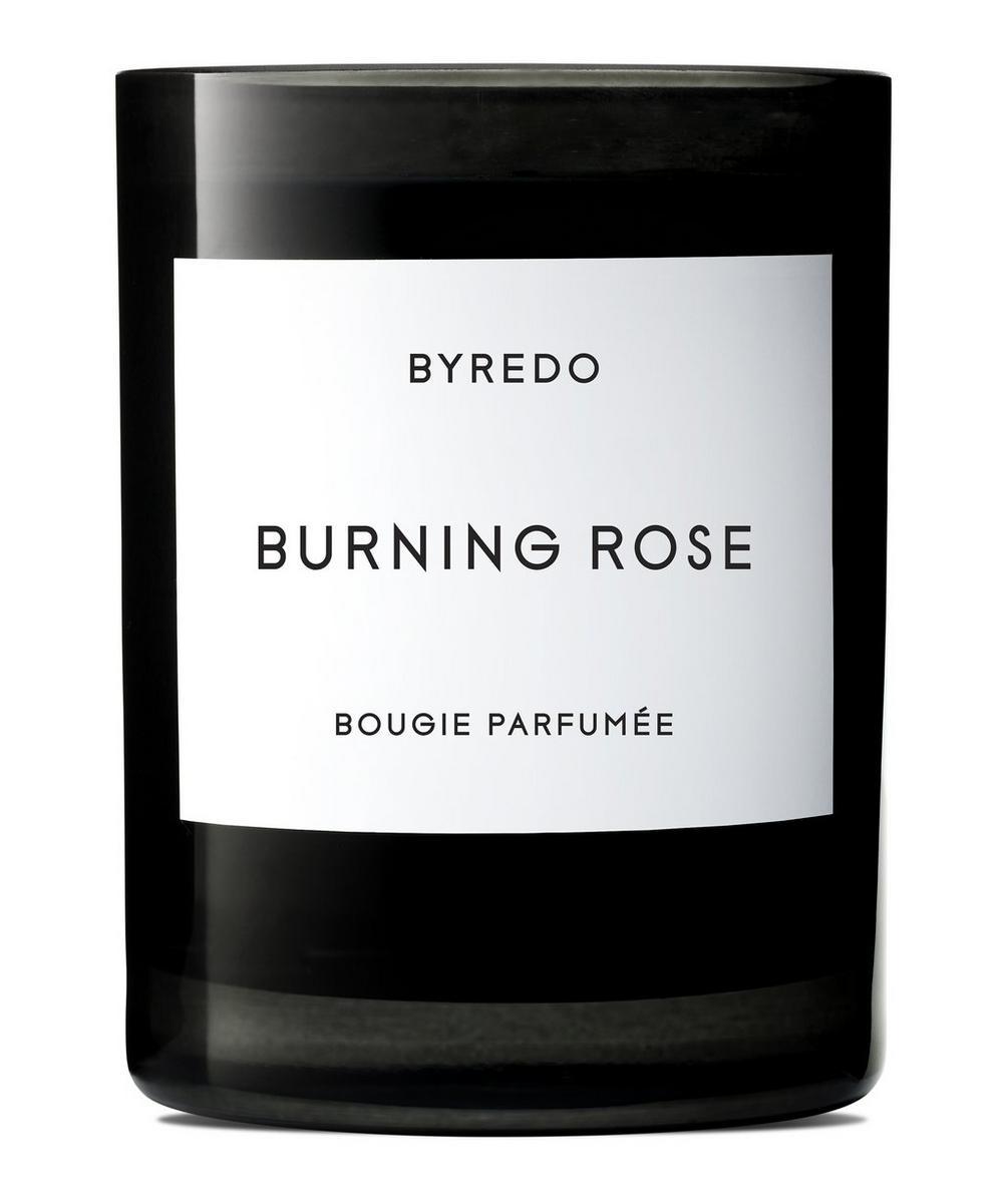 Burning Rose Fragranced Candle