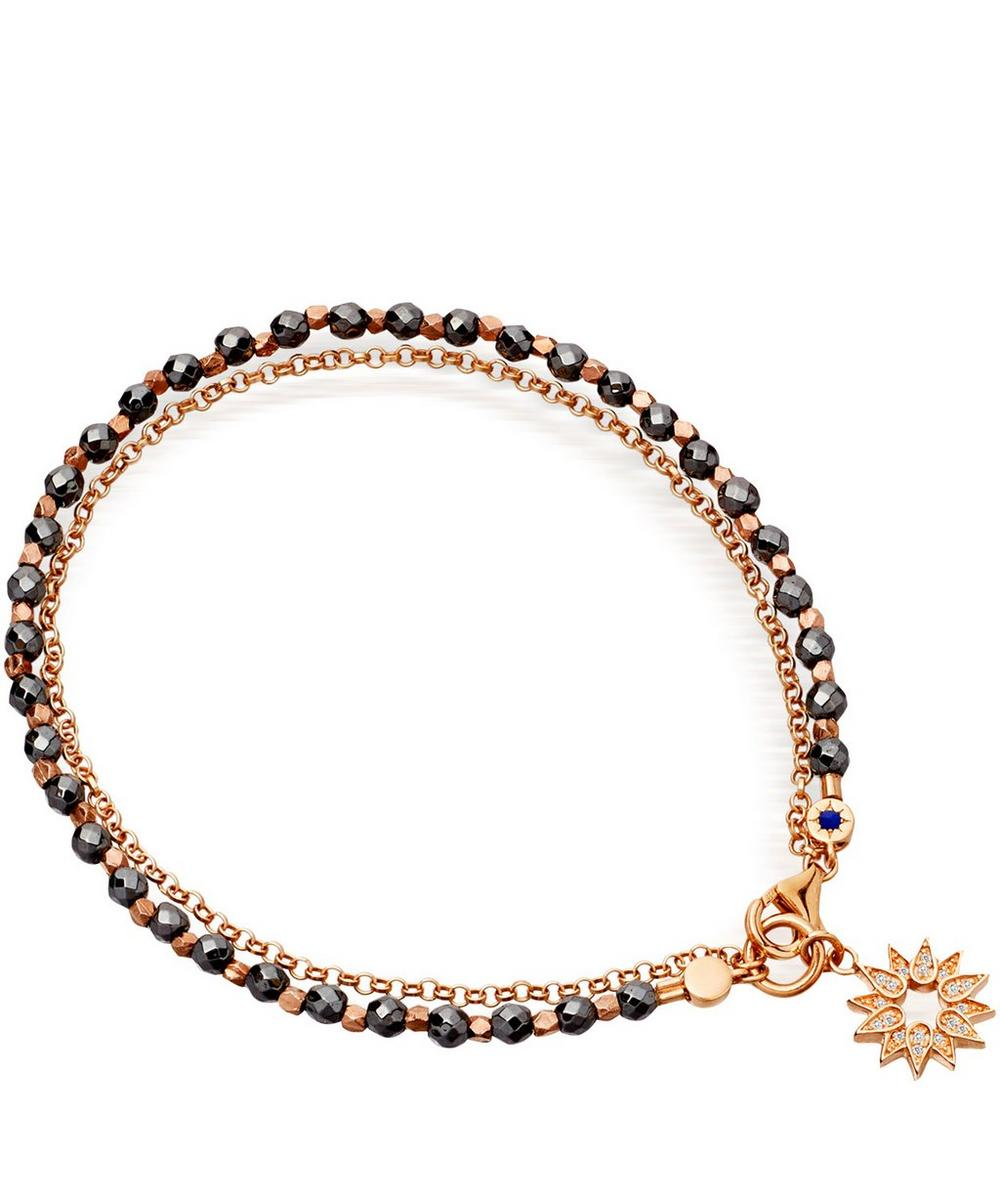 Hematite Sun Biography Bracelet