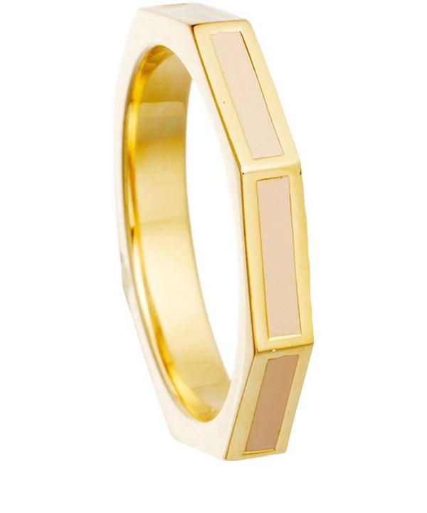 Enamel Fractal Ring