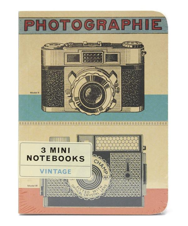 Vintage Mini Notebook Set