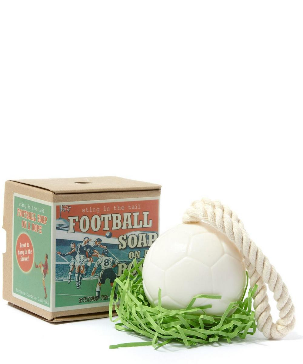 Football on a Rope Soap