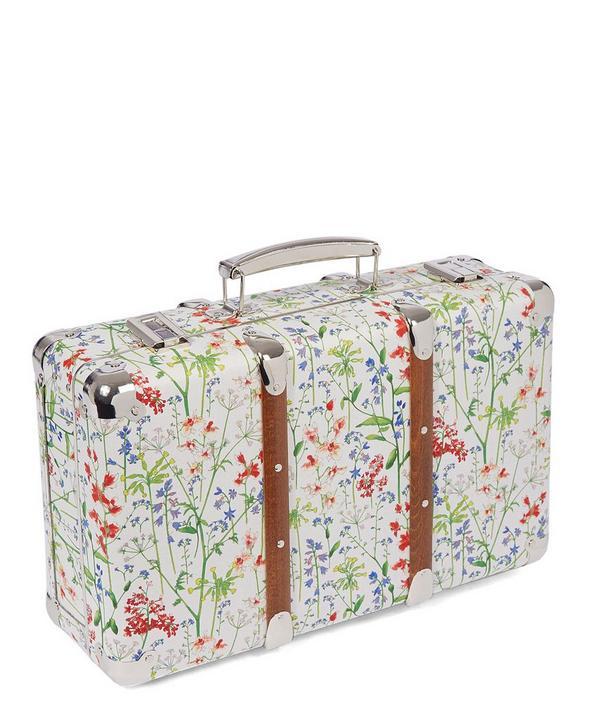 Liberty Print Mini Suitcase