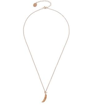 Rose Gold Vermeil Pea Pod Necklace