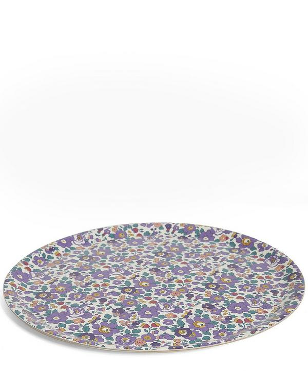 Large Liberty Print Round Tray