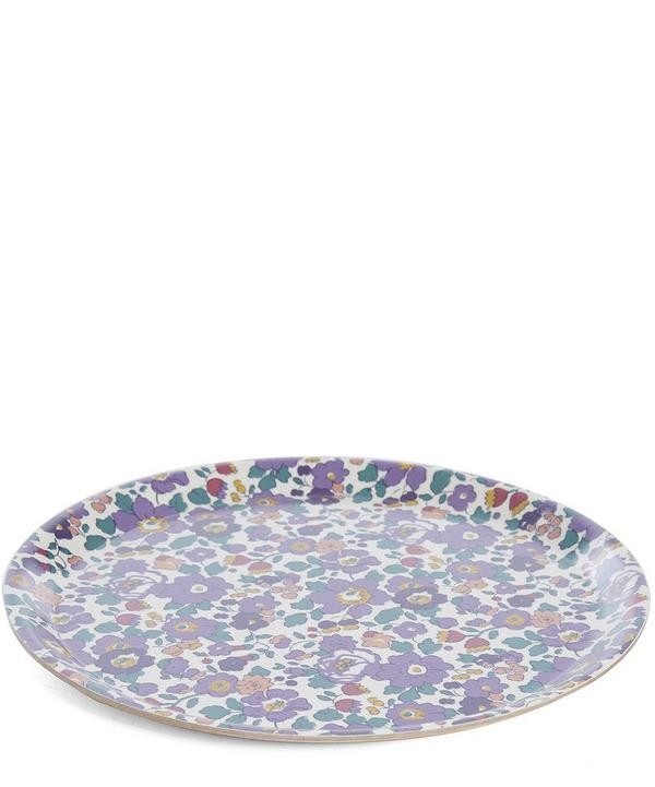 Small Liberty Print Round Tray